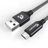 Кабель TIEGEM USB - microUSB, 1 м, серый