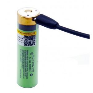Аккумулятор перезаряжаемый 18650 LiitoKala USB 3500мАч, защищенный