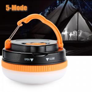 Кемпинговый фонарь 180 лм, 5 режимов, теплый свет