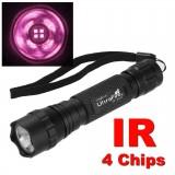 Инфракрасный фонарик Ultrafire WF-501B IR 940nm