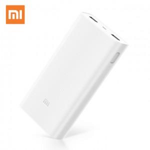 Внешний аккумулятор Xiaomi Mi Power Bank 20000mah 2 USB White