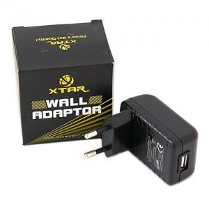 Адаптер питания XTAR в сеть 220В с выходным USB-разъёмом 2,1A