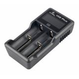 Зарядное устройство XTAR VC2 Plus Master + адаптер 220В 2,1А