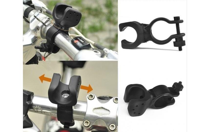 Универсальное поворотное велокрепление для фонаря №2