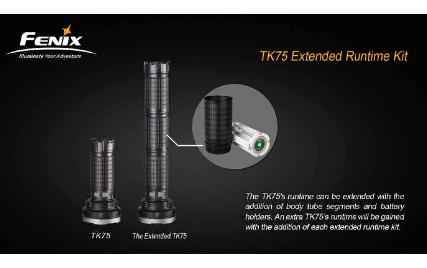 Удлинитель корпуса для Fenix TK75 AER-TK75
