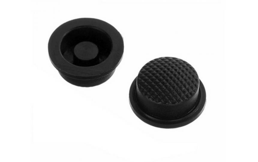 Накладка на кнопку черная 17.5х15