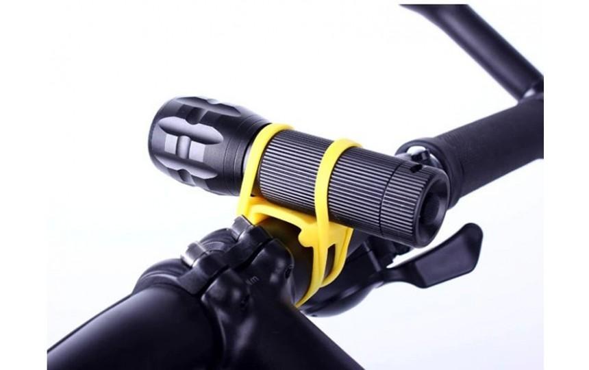 Силиконовое крепление для велосипеда