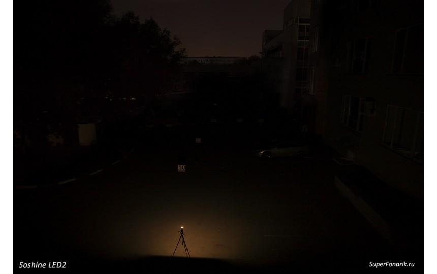 Светодиодная USB-лампа Soshine LED2 (с фотоэлементом)