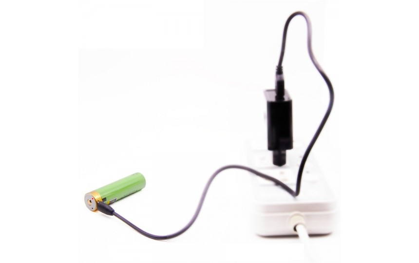 Аккумулятор перезаряжаемый 18650 LiitoKala USB 3400мАч, защищенный