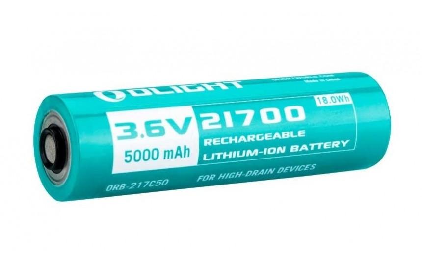 Литиевый аккумулятор Olight 21700 ORB-217C50 5000mAh