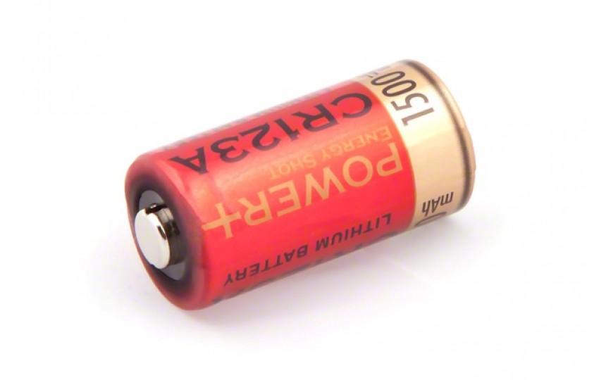 Батарейка Power Plus CR123A 1500 мАч