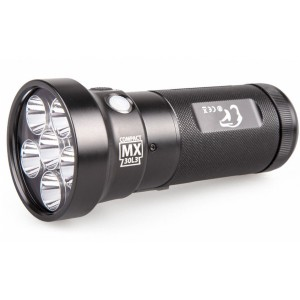 EagleTac MX30L3-CR (6 x CREE XP-L HD + 3*UV 365nm, 1707 лм, 327 м, аккумулятор) белый + УФ 365 нм