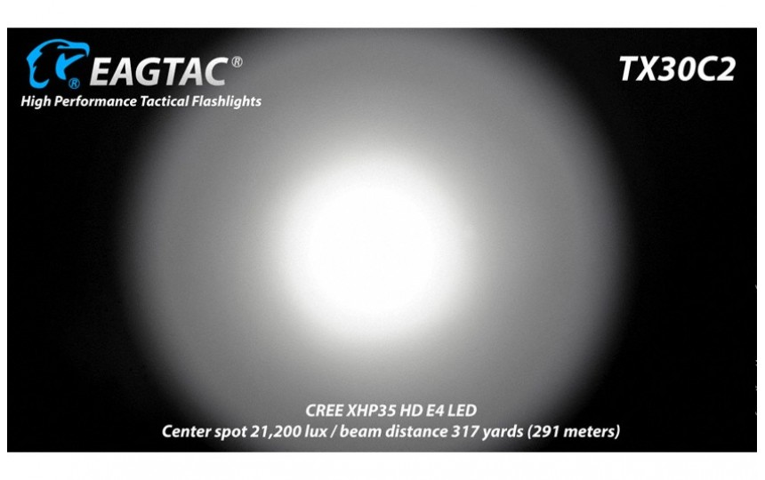 EagleTac TX30C2 XHP35 HI E2 холодный белый свет