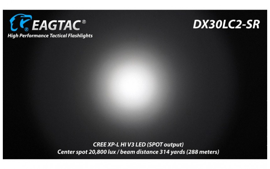 EagleTac DX30LC2-SR KIT XP-L HI V2, 840 лм, нейтральный белый свет