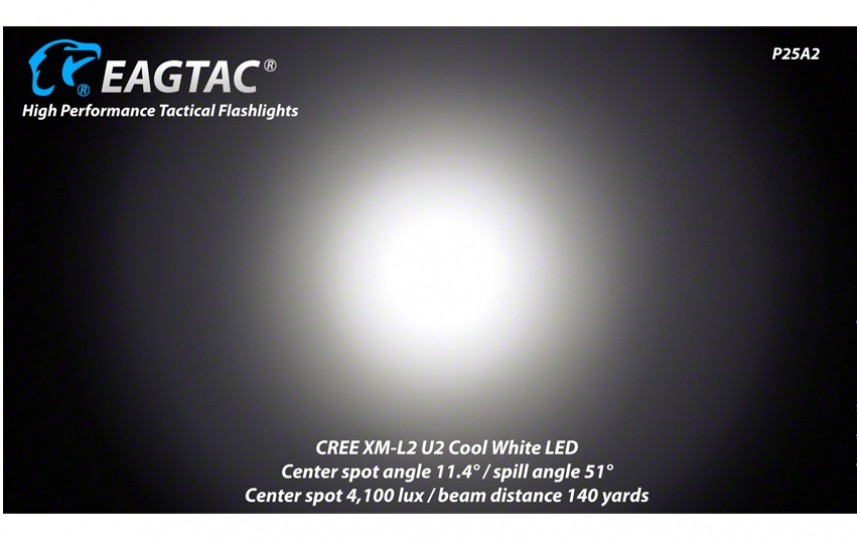 EagleTac P25A2  XM-L2 T6 нейтральный белый свет