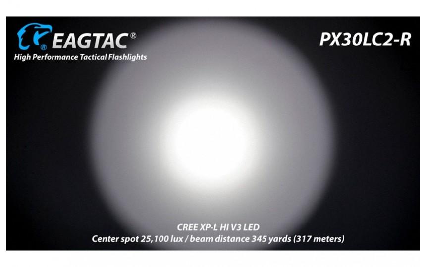 EagleTac PX30LC2-R KIT CREE XP-L HI V3, холодный белый свет