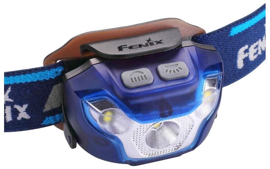 Налобный фонарь Fenix HL26R, синий корпус (CREE XP-G2 R5, 450 лм, 100 м, встроенный Li-Po 1600 мАч)