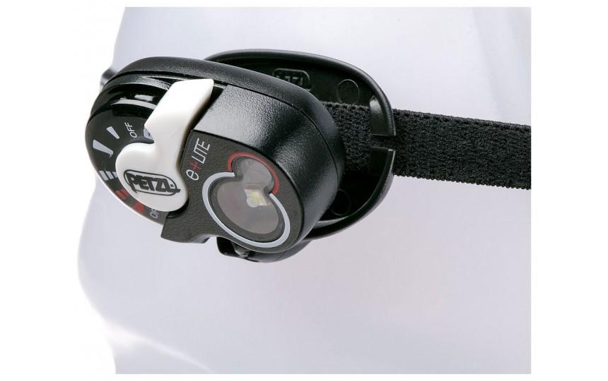 Аварийный налобный фонарь Petzl e+LITE (50 лм, 10 м, CR2032)