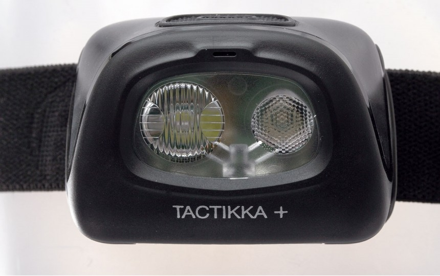 Petzl Tactikka Plus (350 лм, 90 м, ААА) камуфляж