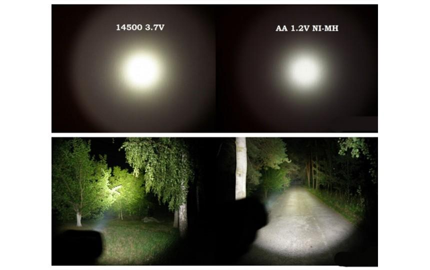 Sofirn SP10S CREE XP-G2 (573 лм, 5 реж., АА) белый свет