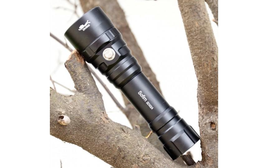 Фонарь для дайвинга Sofirn SD02A CREE XP-L V6 (820 лм, 5 реж., 18650 в комплекте) теплый свет