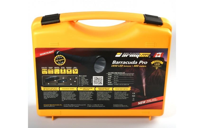 Armytek Barracuda Pro V2 (CREE XHP35 Hi, 1750лм, 775м, 18650) теплый свет