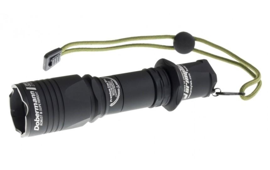 Armytek Dobermann (CREE XP-L HI, 1120лм, 380м, 18650) теплый свет
