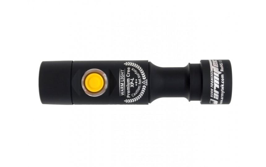Armytek Prime A1 V3 (CREE XP-L, 465 лм, 112м, АА) теплый свет