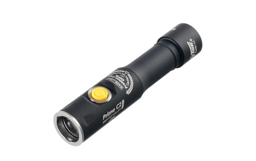 Armytek Prime C2 Pro Magnet USB (CREE XHP35, 2100лм, 192м, 18650) белый свет