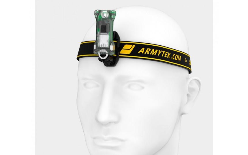Armytek Zippy Extended Set (зеленый)  (200 лм, 15 м, встроенный Li-Pol акуммулятор)