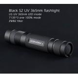 Ультрафиолетовый фонарь Convoy S2 UV 365nm