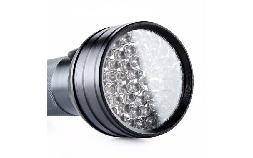 Ультрафиолетовый фонарь 51 светодиод 395нм