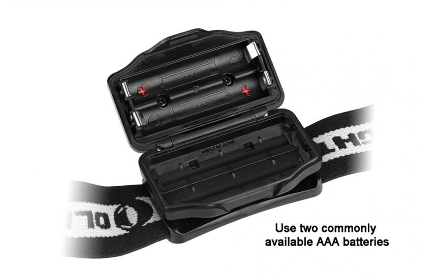 Налобный фонарь Olight H05S Active, Cree XM-L2, 3 режима, 200 лм