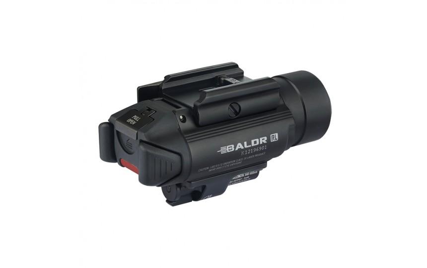 Olight Baldr RL (CREE XHP 35 HI, 1120 лм, 240 м, CR123A) с лазерным целеуказателем