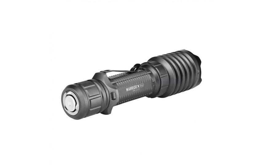 Подствольный фонарь Olight Warrior X Pro (CREE XHP35HI, 2250лм, 600 м, 21700) нейтральный свет (+ аккум и ЗУ) Gunmetal Grey