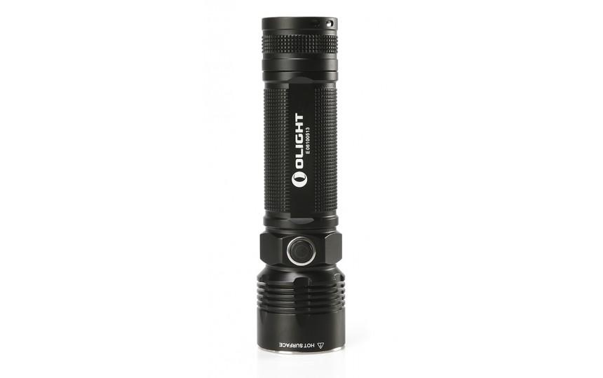 Olight R40 Seeker (CREE XM-L2 U2, 1100лм, 280м, 26650) белый свет (+зарядка и аккумулятор)