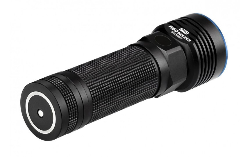 Olight R50 Pro Seeker (CREE XHP 70, 3200лм, 250м, 26650) белый свет (+зарядка и аккумулятор)