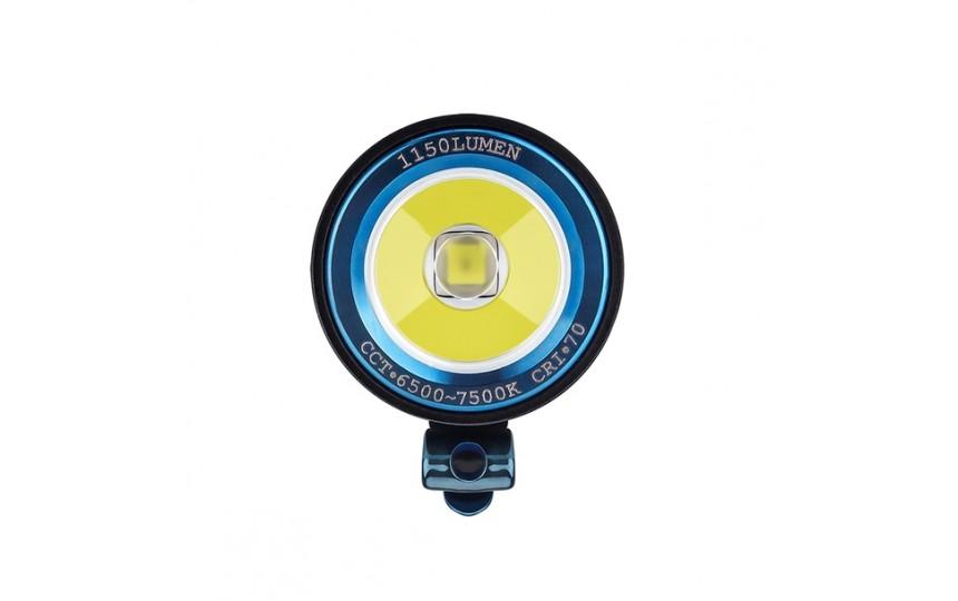 Olight S2R Baton II (Luminus SST-40, 1150лм, 135м, 18650) белый свет (+зарядка и аккумулятор)
