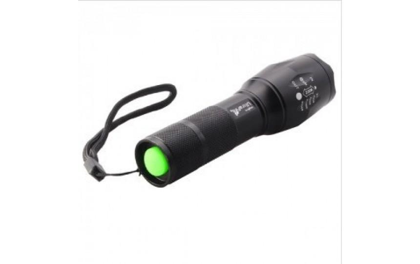 Ultrafire E17 CREE XM-L2 U3 ZOOM 5 режимов белый свет