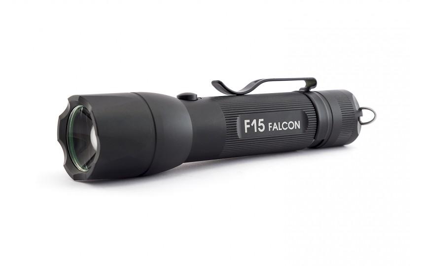 Яркий луч F15 Falcon (XP-L HI, ANSI 800 лм, 18650)