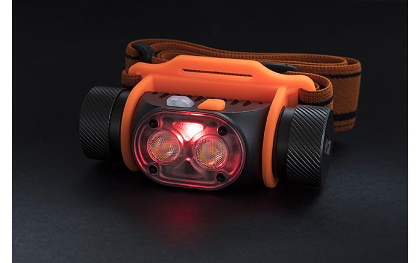 Налобный фонарь Яркий луч Panda 2M-CRI (2 x Samsung 351D, ANSI 700 лм, 45 м, 18650)