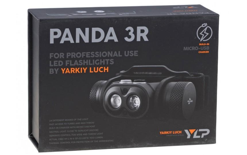 Налобный фонарь Яркий луч Panda 3R (XP-L HI + XP-G3, 1100 лм, 18650)