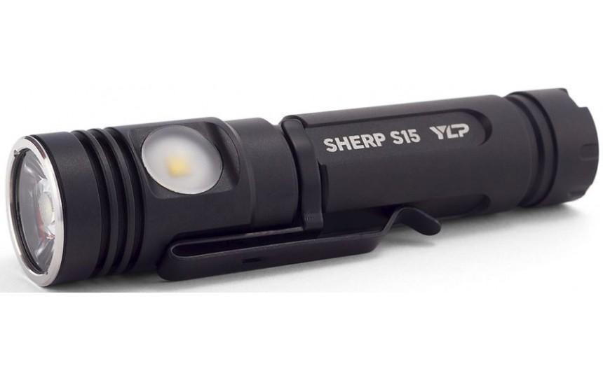 Яркий луч S15 Sherp YPL  (CREE XM-L2, 900 лм,  155 м, 18650 в комплекте)
