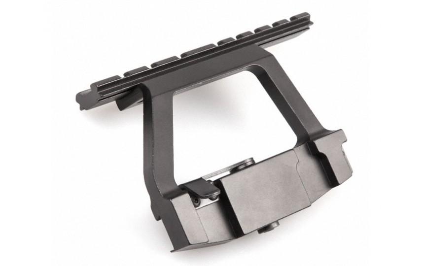 Переходник Ласточкин хвост - база Picatinny/Weaver для АК и карабинов на его основе
