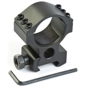 Крепление кольцо 30 мм на рейку Weaver/Picatinny высокое вер.2