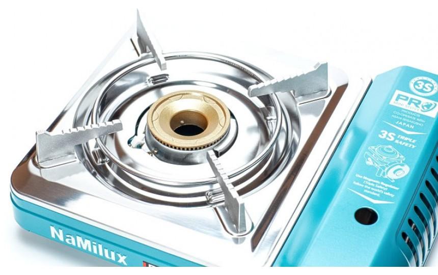Портативная газовая плита NaMilux NA-PL2033PS