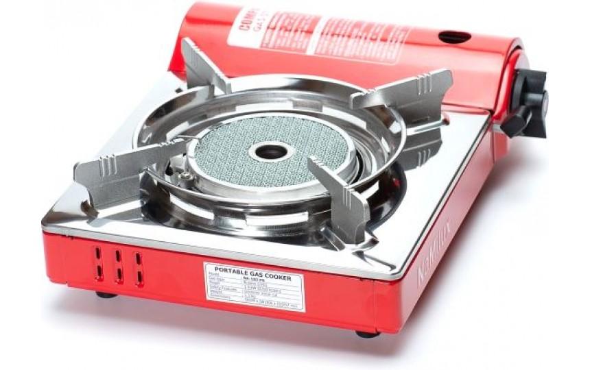 Керамическая портативная газовая плита NaMilux NA-183PS