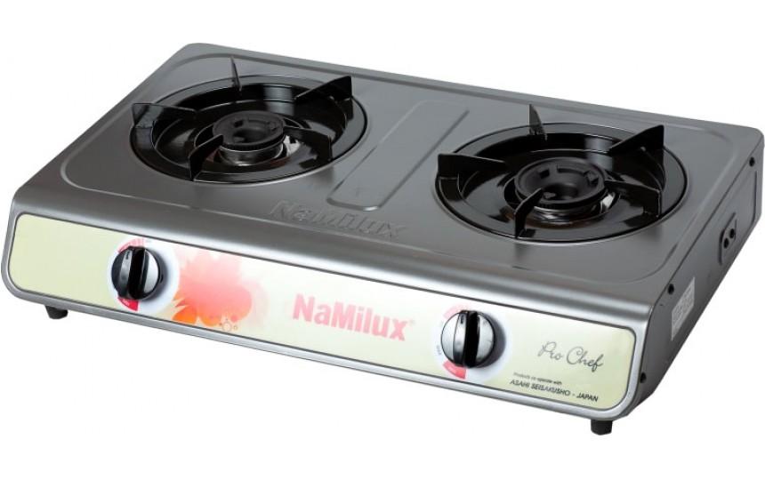 Двухконфорочная газовая плита NaMilux NA-681DFM