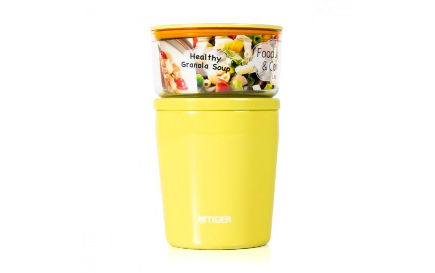 Ланч-набор для еды Tiger LCC-A030 Yellow (0,57 л)