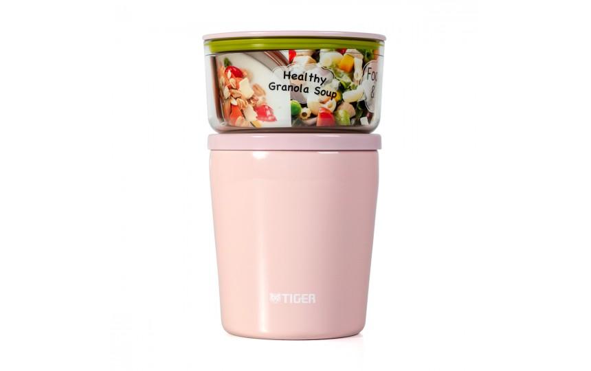 Ланч-набор для еды Tiger LCC-A030 Pink (цвет розовый)
